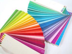 カラフルな色紙